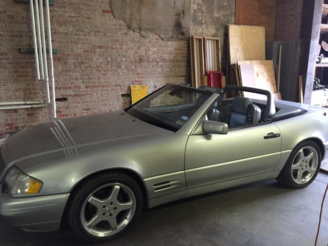 1997 Mercedes SL500 Convertible